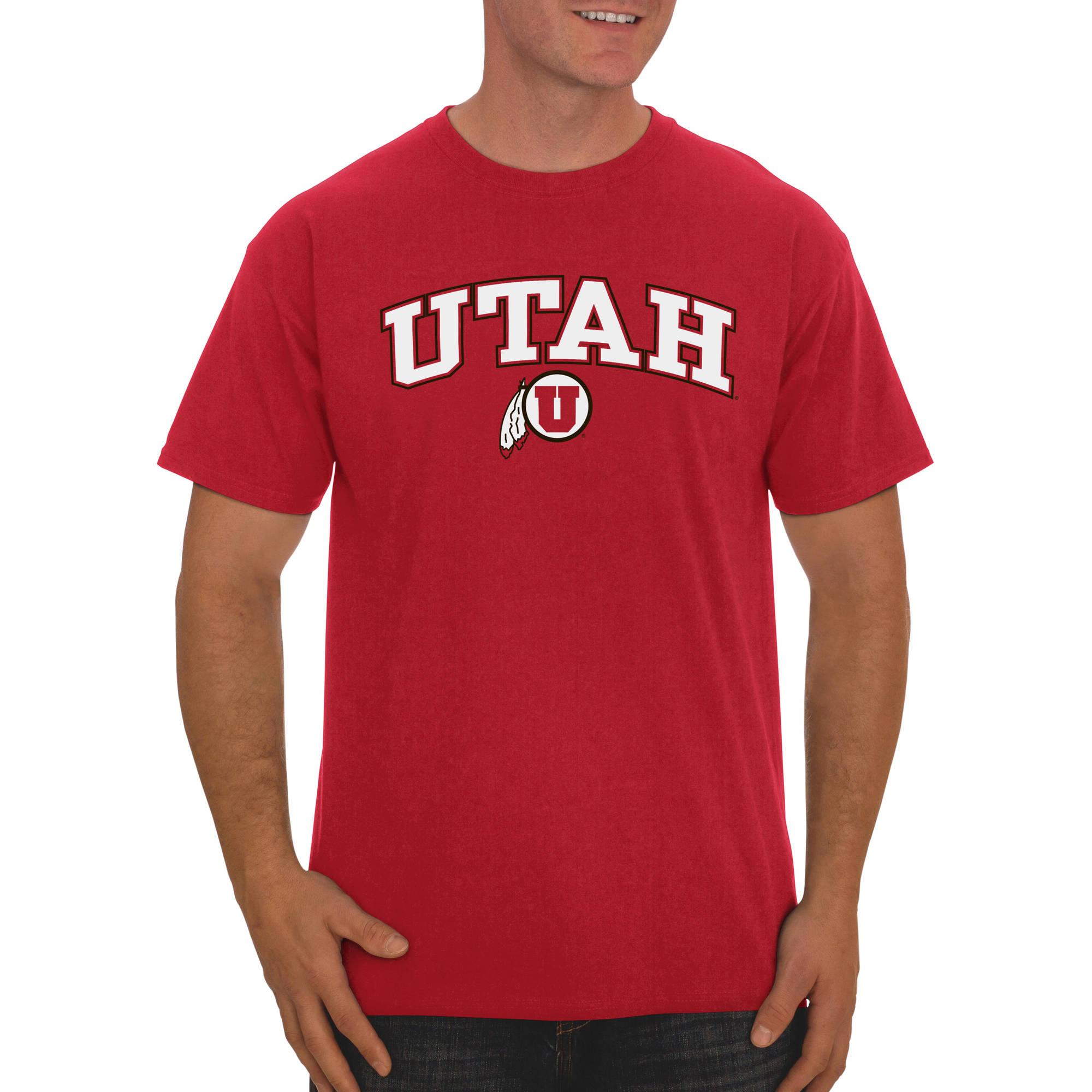 Russell NCAA Utah Utes Big Men's Classic Cotton T-Shirt