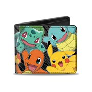 Pokemon Animated TV Series Striped Original Four Bi-Fold Wallet