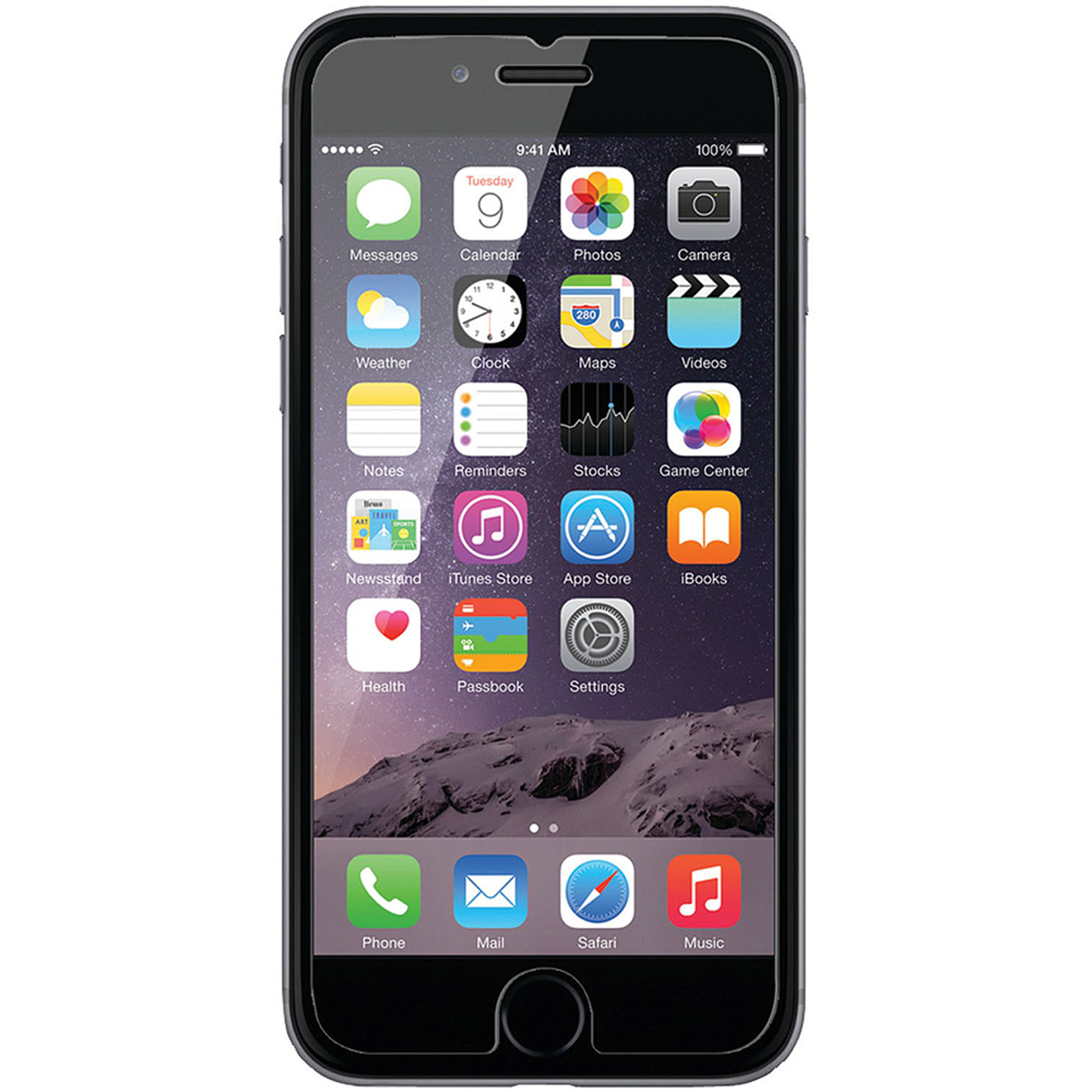 iLuv Apple iPhone 6 Tempered Glass Screen Protector