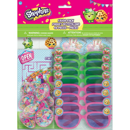 Shopkins Party Favors, 48pc