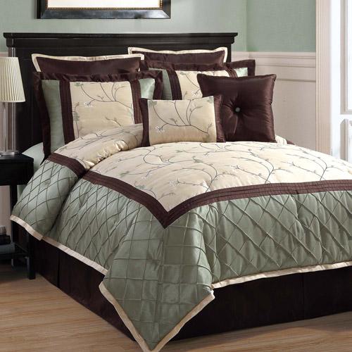 Victoria Classics Alexandria 8-Piece Bedding Comforter Set, Euro Shams included