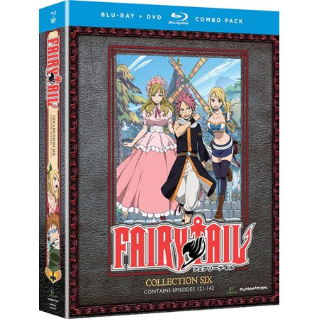 Fairy Tail  Collection Six  Blu Ray   Dvd   Widescreen