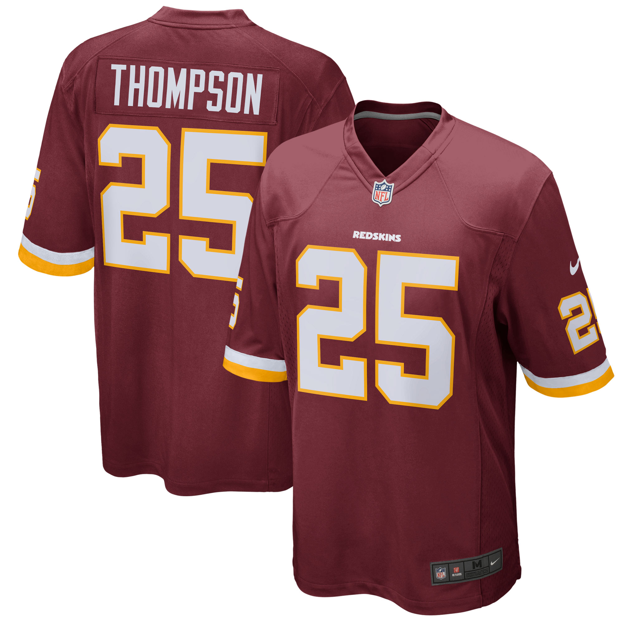 Chris Thompson Washington Redskins Nike Youth Game Jersey - Burgundy