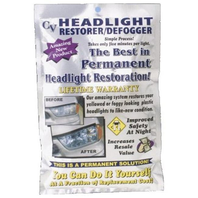 Crystal View Chemicals 101 Headlight Restoration