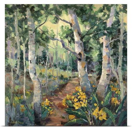 Great Big Canvas Nanette Oleson Poster Print Entitled Four Seasons Aspens Ii