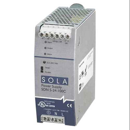 SOLA/HEVI-DUTY SDN5-24-100C DC Power Supply