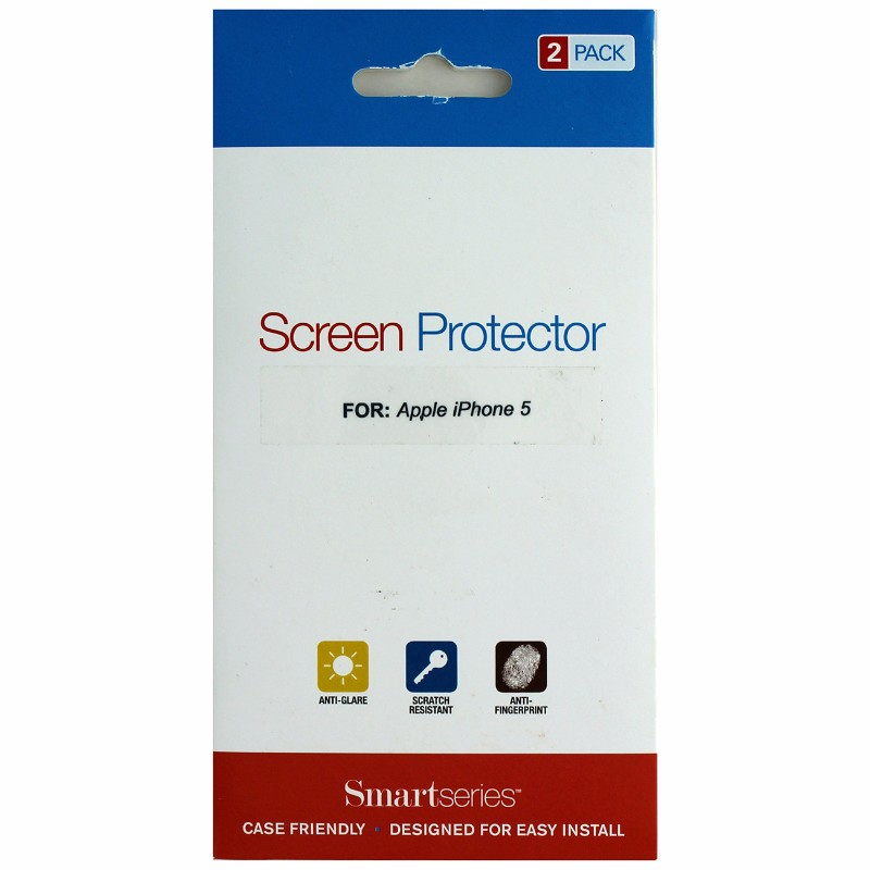Smartseries 2-pack Screen Protector for Apple iPhone 5 5S