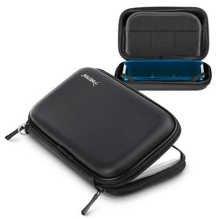 Insten Lite Eva Case For Nintendo 3DS / NDS, Black - image 6 de 6