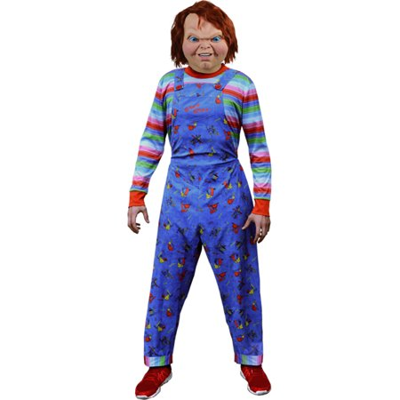 Boys Child's Play 2 Chucky Good Guy Doll Deluxe Costume One Size](Chucky Costume)