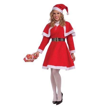 Mrs Santa Claus Adult Female Christmas Costume Walmart Com