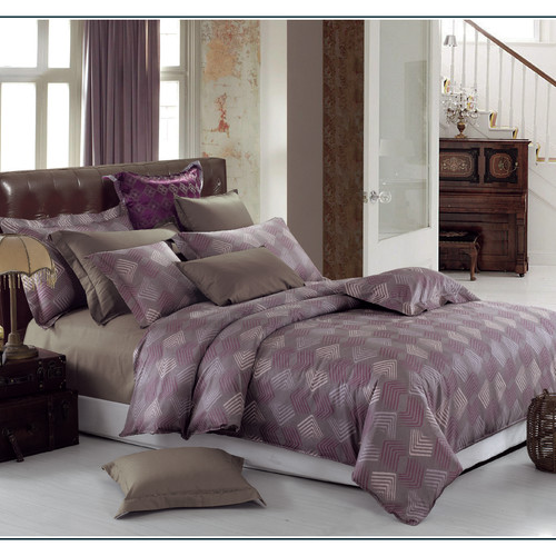LJ Home Quartz 3 Piece Duvet Cover Set