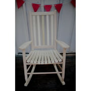 Dixie Seating Georgetown Hickory Outdoor Slat Rocking Chair