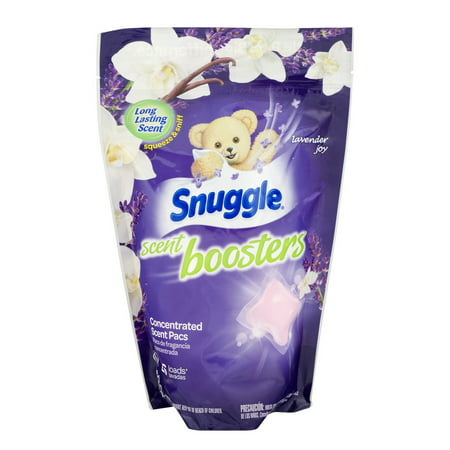 (2 pack) Snuggle Scent Boosters Concentrated Scent Pacs Lavender Joy - 26 CT