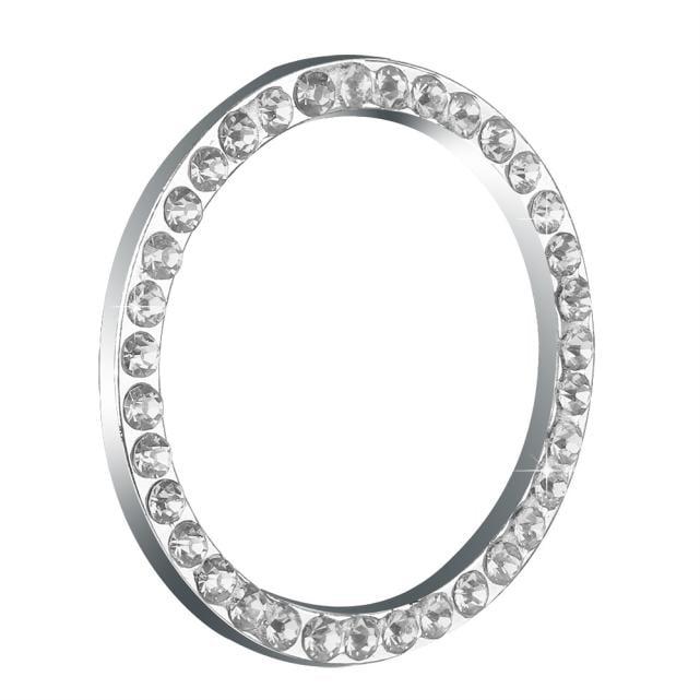 Auto Decorative Accessories Car Button Start Switch Diamond Ring Sl