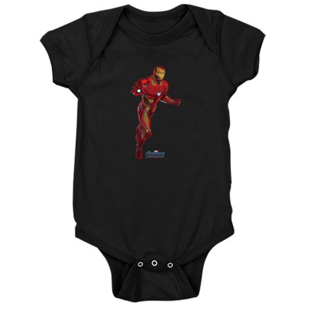 CafePress - Iron Man - Cute Infant Bodysuit Baby Romper - Iron Man Baby