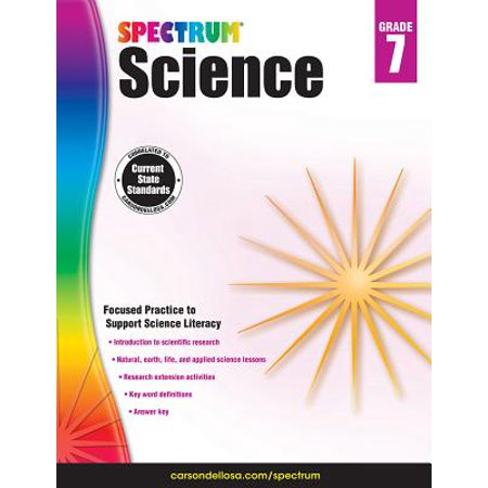 Spectrum Science, Grade 7 (Earth Science Chapter 7 Study Guide Answers)
