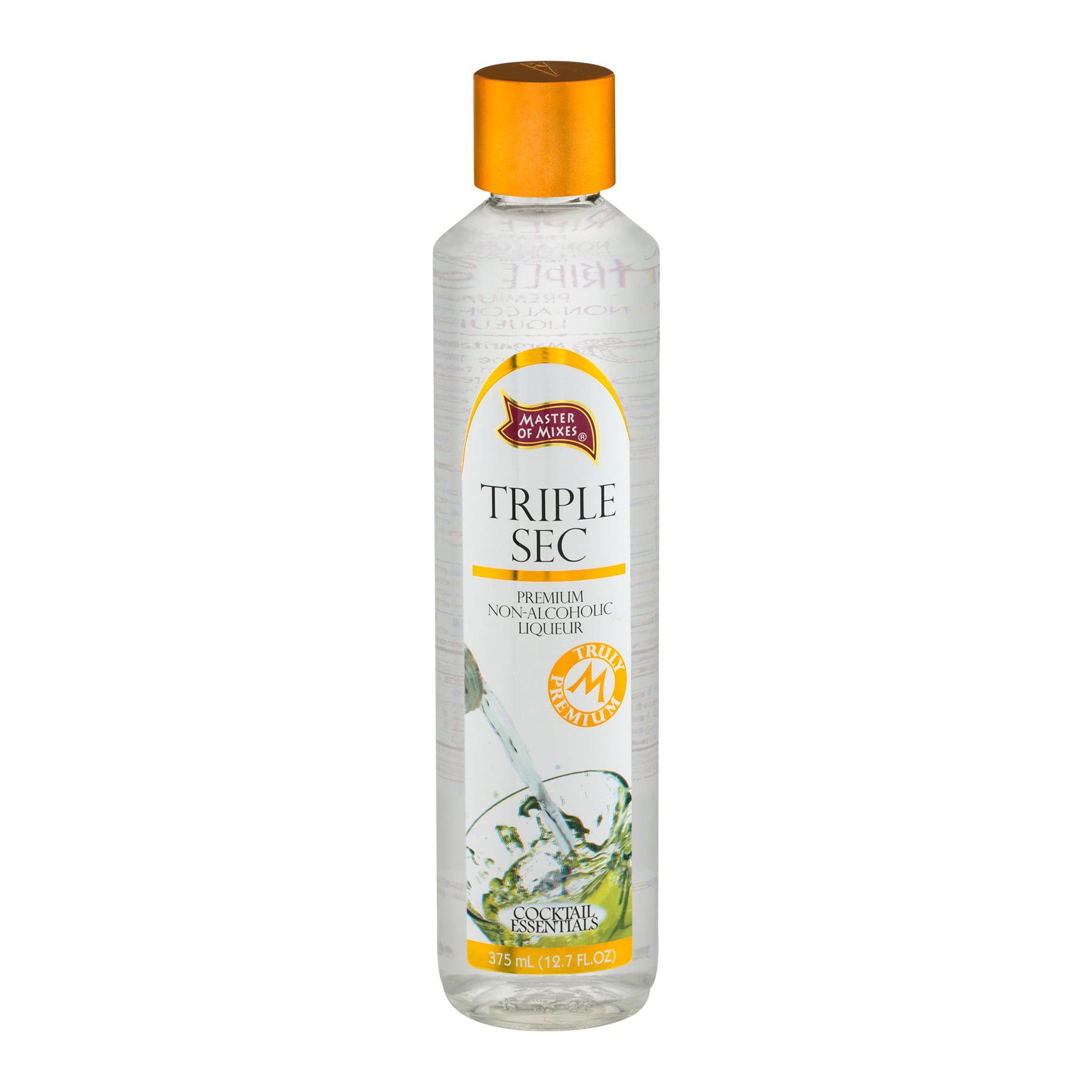 Master of Mixes Triple Sec Premium Non-Alcohlic Liqueur, 375.0 ML