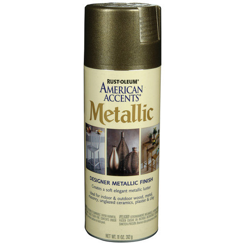 AmericanAccents 11 Oz Aged Bronze Designer Metallic Paint Kit (Set of 6)