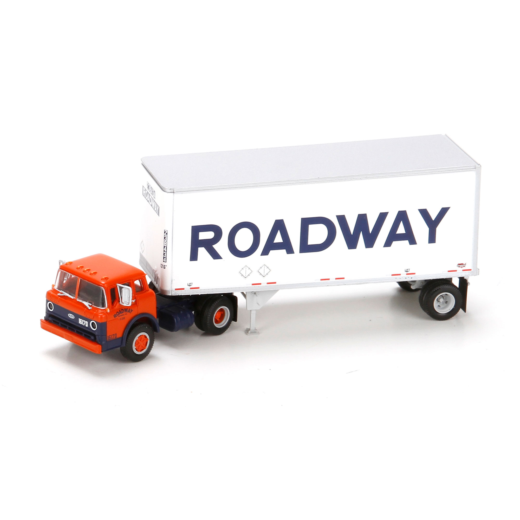 Athearn 91034 HO Roadway Ford C w/28' Smooth Trailer