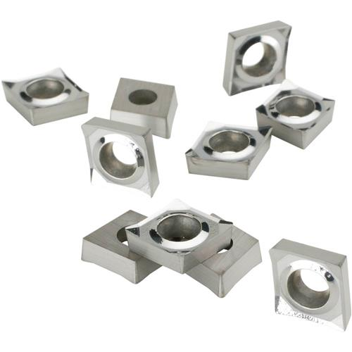 Grizzly T20667 Carbide Inserts CCGT for Aluminum, pk. of 10