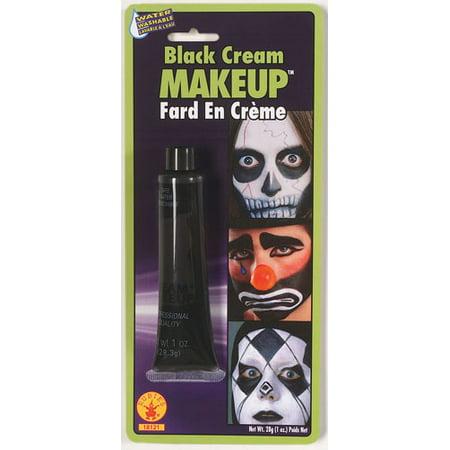 Black Cream Makeup Halloween Costumes and Accessories
