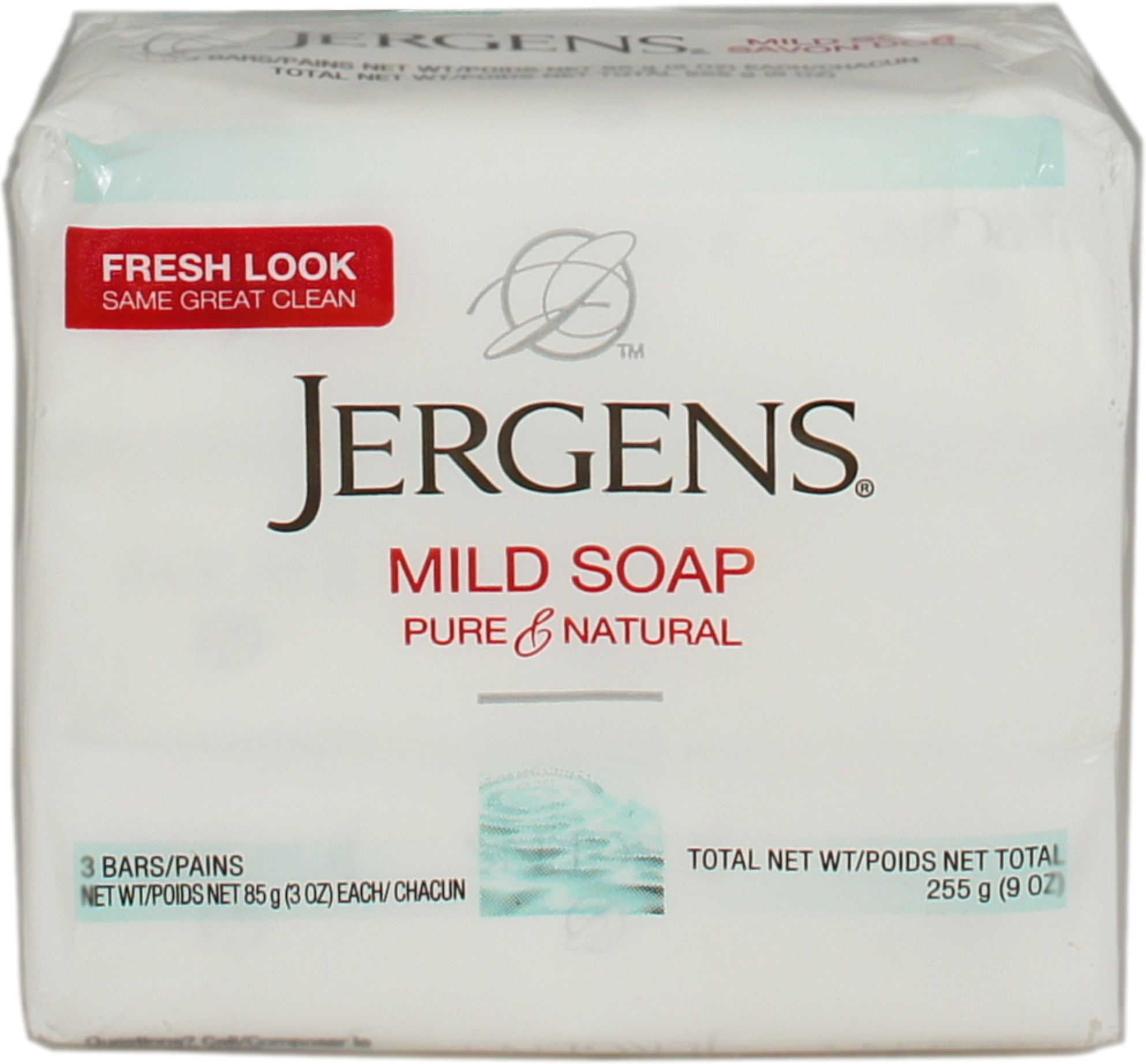 Jergens Mild Soap 9 oz (Pack of 3)