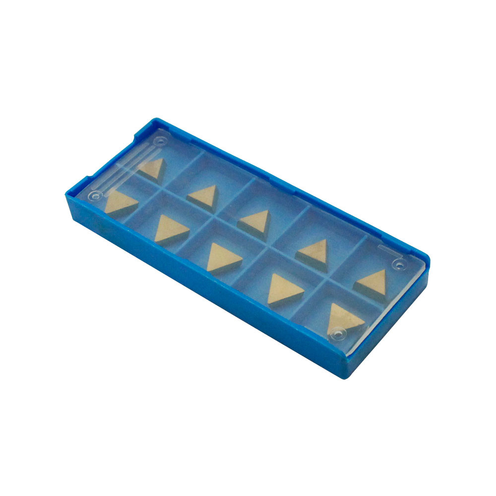 Case Of 10 Tin Coated Carbide Inserts DCMT21.51 2151 C6 Grade For Turning Tools