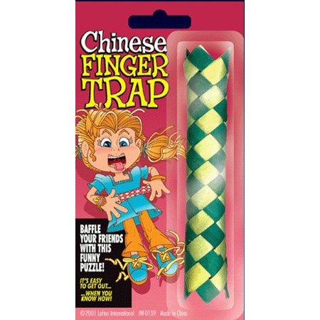 Chinese Finger Trap Prank