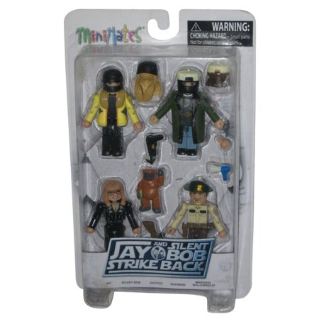 Jay and Silent Bob Strike Back Minimates Figure Series 2 Box Set - Diamond Select
