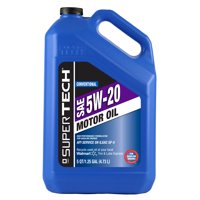 SuperTech 5W20 5-Quart Motor Oil