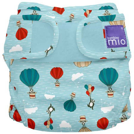 Miosoft Diaper Cover, Sky Ride, Size 2 21Lbs+
