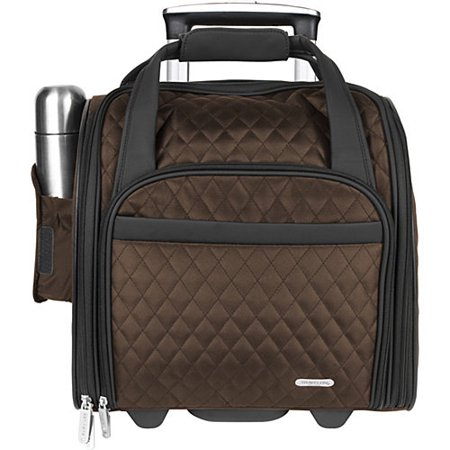 Travelon Wheeled Underseat Carry-On with Back-Up Bag - Walmart.com