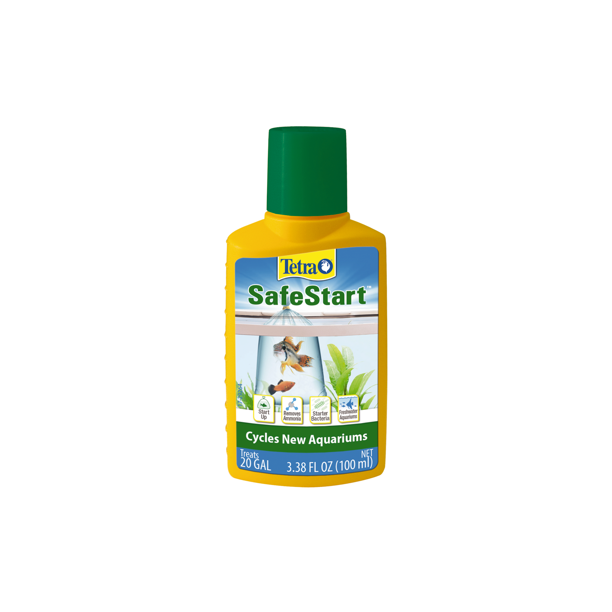 Tetra Aquarium Safe Start Bacteria for Aquariums, 3.38 oz