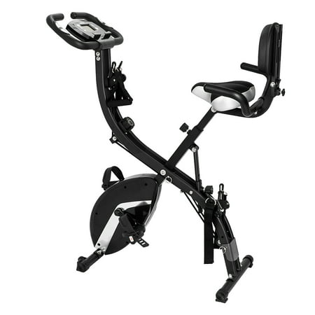 Ktaxon 3 in 1 Folding Adjustable Upright Exercise Cycling Recumbent
