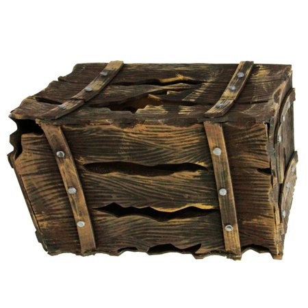 Halloween Haunters Animated Pirates Crate Box Chest Screaming Prop Decoration