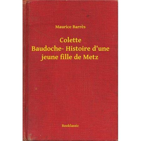 Colette Baudoche- Histoire d