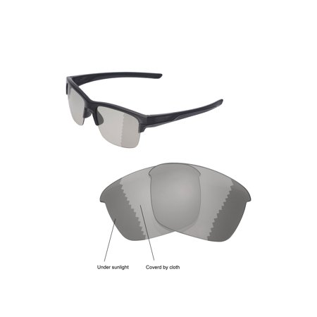 0df26060fa Walleva - Walleva Transition Photochromic Polarized Replacement Lenses for  Oakley Thinlink Sunglasses - Walmart.com