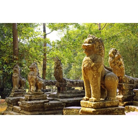 LAMINATED POSTER Ruin Cambodia Bantaey Srei Angkor Temple Poster Print 24 x 36