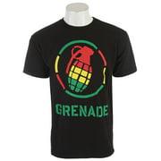 Grenade Rasta Stenz T-Shirt Black Mens