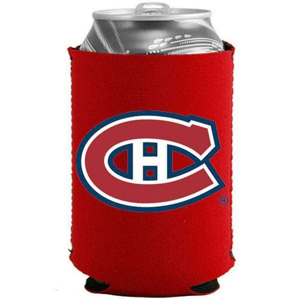 Montreal Canadiens Red Collapsible Can Cooler - No Size