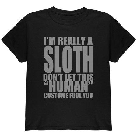 Human Sloth Costume Youth T - Sloth Costume