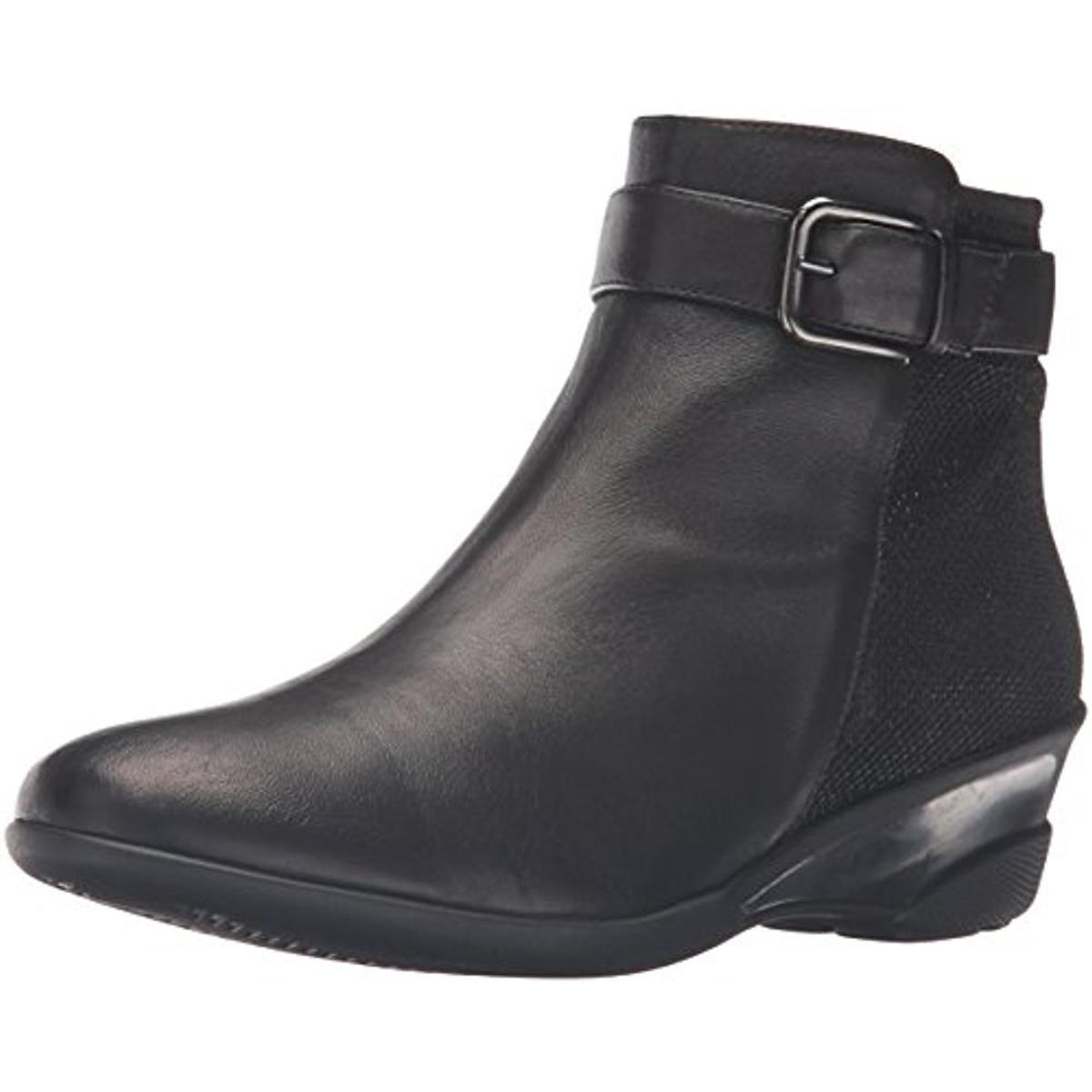 Amalfi by Rangoni Womens Nizza Leather Metallic Ankle Boots by Amalfi by Rangoni