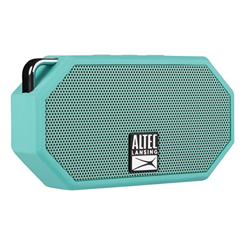 Refurbished Altec Lansing IMW258-MT Mini H20 2 Wireless Speaker Bluetooth (Mint) by Altec Lancing