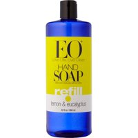 EO Hand Soap, Lemon & Eucalyptus, 32 Fl Oz