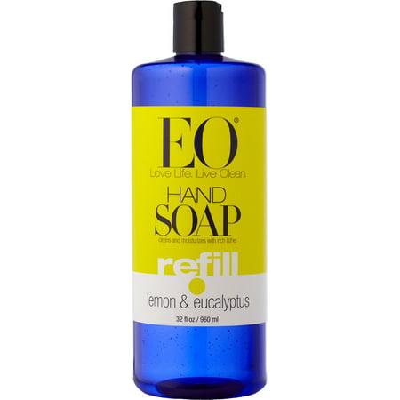 EO Hand Soap, Lemon & Eucalyptus, 32 Fl Oz