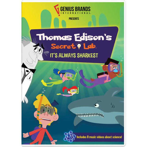 Thomas Edison S Secret Lab Bee Gone Dvd Walmart Com Walmart Com
