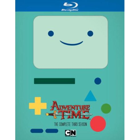 Cartoon Network  Adventure Time The Complete Third Season  Blu Ray   Widescreen