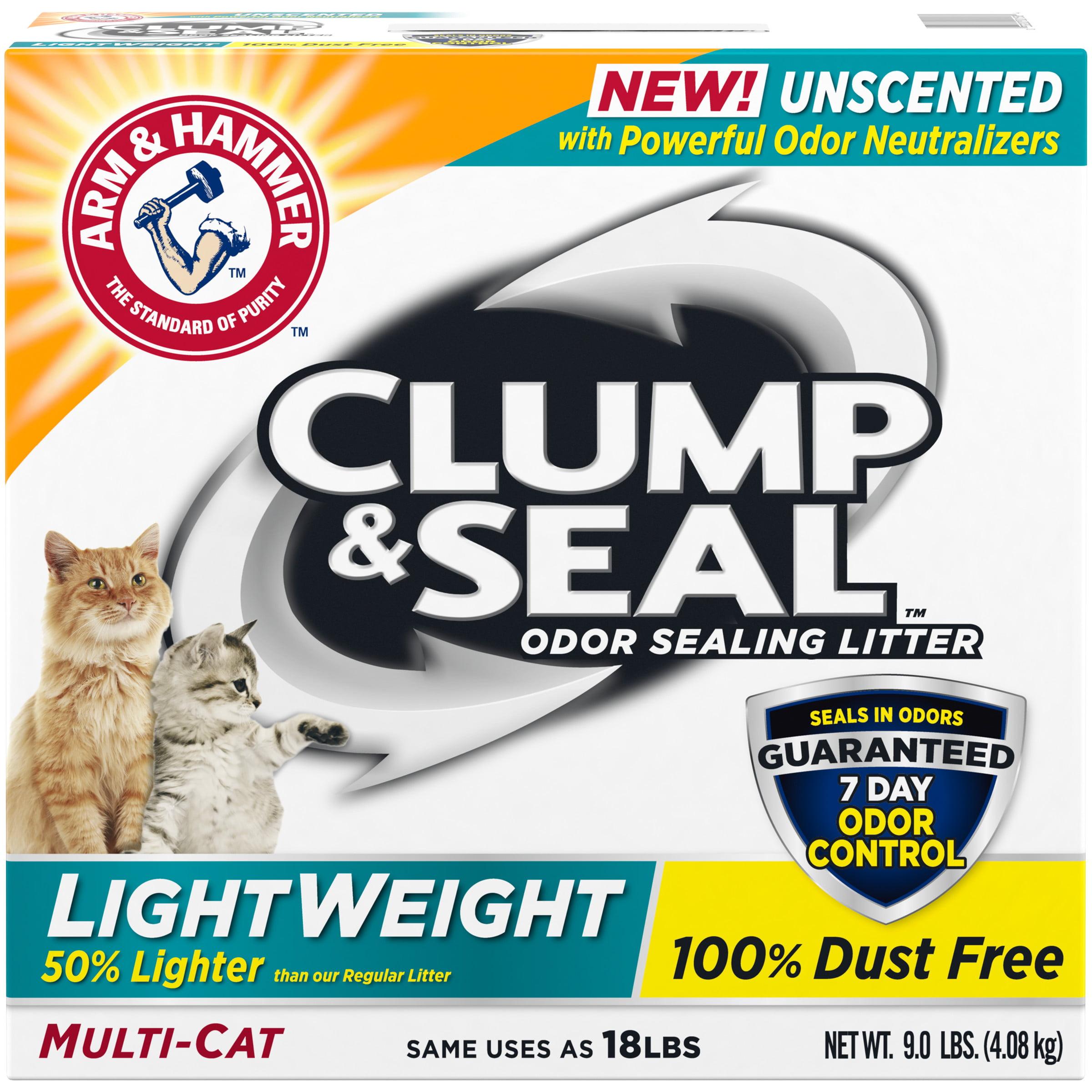 A&H Clump & Seal Lightweight Unscented Multi Cat, 9lb