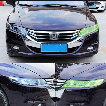 Car-Styling Auto Car Light Headlight Taillight Tint Styling Waterproof Protective PVC Film Sticker Car Accessories - image 3 de 7