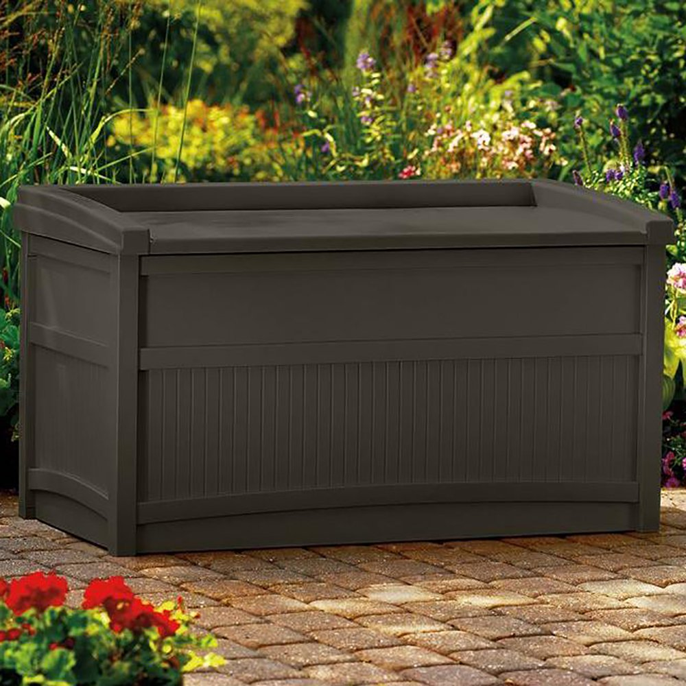 Suncast 50-Gallon Deck Box ONL...
